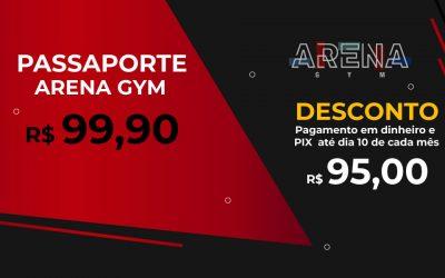 Pacote Fitness Arena Gym Sidrolândia